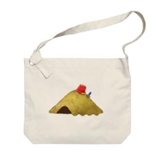 すなばのやま-003ばん Big shoulder bags