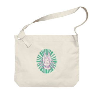 KITSUNE! Big shoulder bags