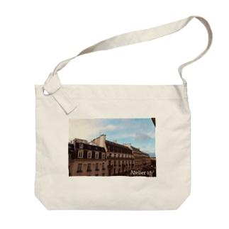 paris Big shoulder bags