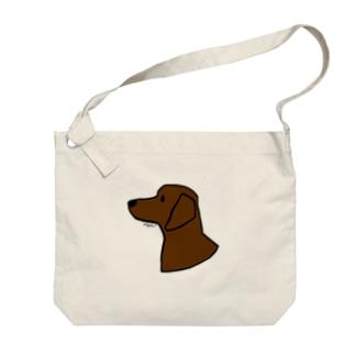 ダックスフンド Big shoulder bags