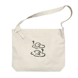 イルカ、はぐれぬようイルカ(?) Big shoulder bags
