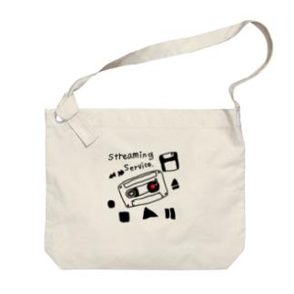 ym303bass オフィシャルショップの音楽ストリーミングサービスグッズ Big shoulder bags