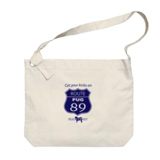 ROUTE89(PUG) Big shoulder bags
