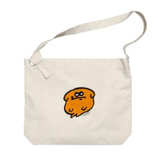 YASHINO CLUB SHOPのじろりジョントートバッグ(テイクアウト推進原価奉仕) Big shoulder bags