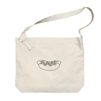 すけすけホットドッグ Big shoulder bags