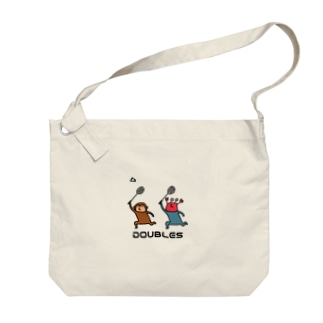バドミントン サルカニダブルス Big shoulder bags