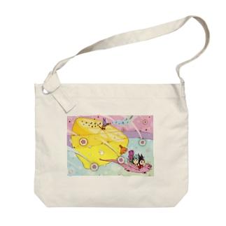 レモン Big shoulder bags