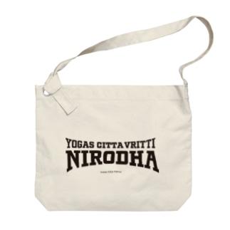 NIRODHA 2021SS SPORTY LOGO Big Shoulder Bag