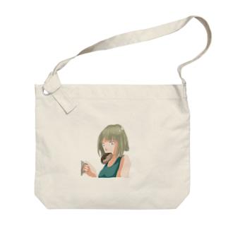ドーナツ Big shoulder bags