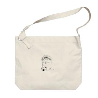 みあげマヌル Big shoulder bags