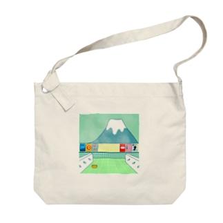 銭湯 Big shoulder bags
