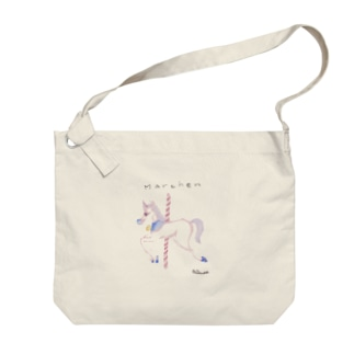 メルヘンという毒 Big Shoulder Bag