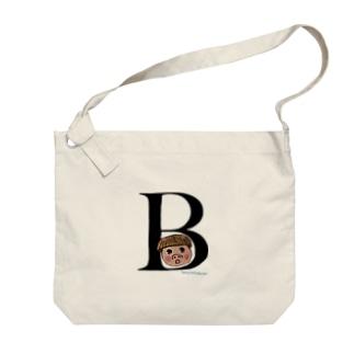 豚次のB Big Shoulder Bag