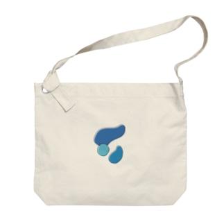 トリコロール ネモフィラ Big Shoulder Bag