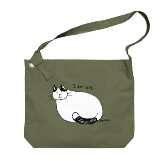おおきなねこ Big shoulder bags