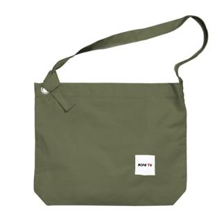 ROARTVロゴT Big shoulder bags