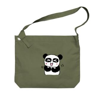 ぱんだかわいい Big shoulder bags