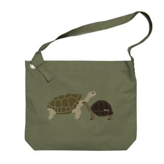 ゾウガメ Big shoulder bags