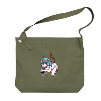 悪魔っぽい子 Big shoulder bags