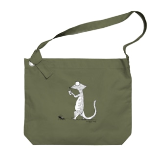 Walk with The Insect Big shoulder bags