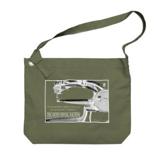 棄てられたミシン ~ BW反転 Big shoulder bags