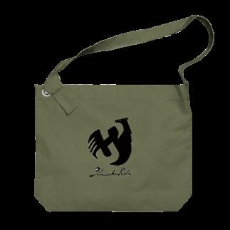 Shinsuke Sada Goods ShopのSHINSUKE SADA オフィシャルロゴグッズ Big shoulder bags