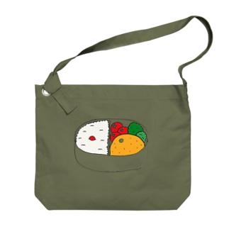 おみかんinお弁当箱 Big shoulder bags
