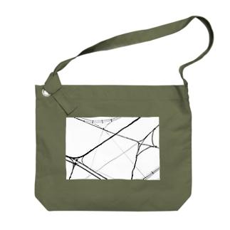 電線2 Big shoulder bags