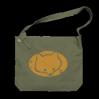 あたちたちのおみせのjapanese siba Big shoulder bags