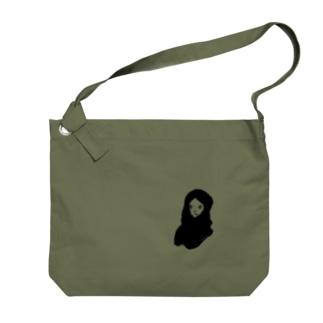 CLUB_4 オリジナルグッズ Big shoulder bags
