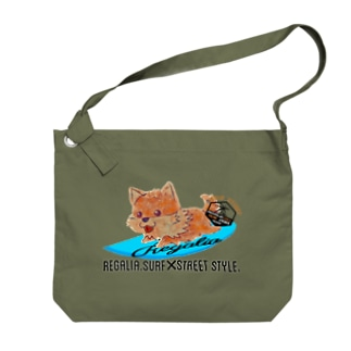 REGALIA dog surf Big shoulder bags