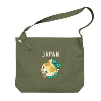 ハチワレJAPAN Big shoulder bags