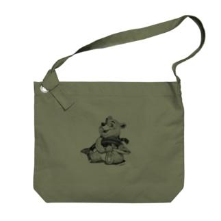 Tatsuya Artistのバーニーベア Big shoulder bags