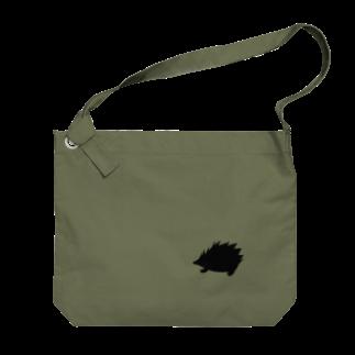 ラルゴのハリネズミ Big shoulder bags