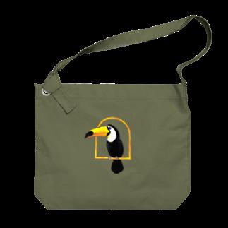 Leee_sanのオニオオハシ Big shoulder bags