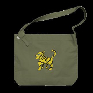 ヒノマルエスビーのカマタイガー Big shoulder bags