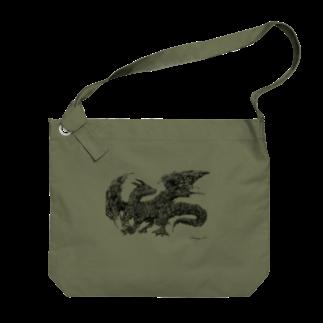 山口昇悟 Shogo Yamaguchiのドラゴン Big shoulder bags
