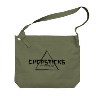 Filmer_Noonの「CHOPSTICKS」横長ロゴ Big shoulder bags