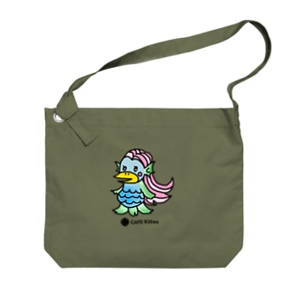 【CAFE Kiitos × AMABIE】シリーズ Big shoulder bags