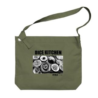 ダイスキッチン応援グッズ Big shoulder bags