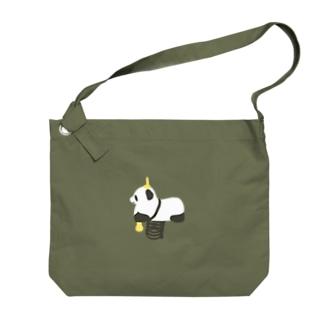 パンダ Big shoulder bags