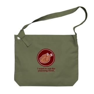 憧れのチキンちゃんビッグショルダーバッグ Big shoulder bags