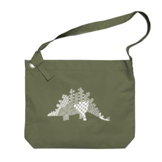 ステゴサウルス Big shoulder bags