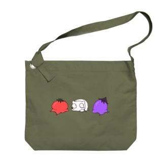 summer vegetables Big shoulder bags