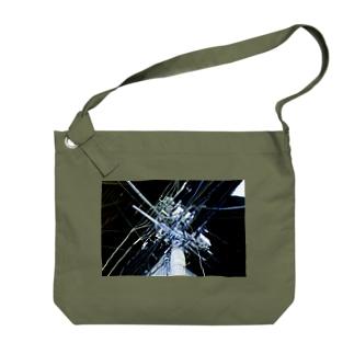 中野・夜中のいい電線 Big shoulder bags