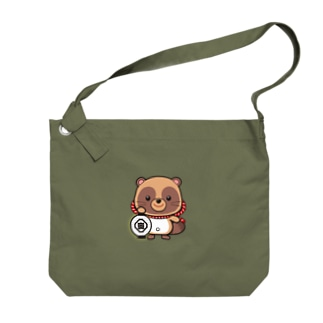 五六たぬき Big shoulder bags