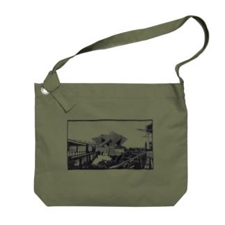東京ビックサイト02 Big shoulder bags