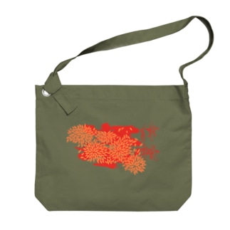 紅津軽 Big shoulder bags