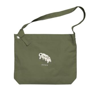 最強生物 クマムシ no.2 Big shoulder bags