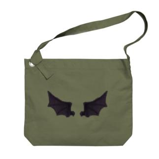 悪魔の羽 Big shoulder bags